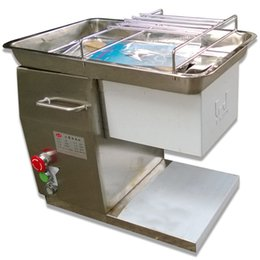 Wholesale Automatic QH meat slicer Restaurant meat cutter KG HR supply V and V meat cutting machine large tonnage