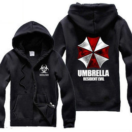 Biohazard Umbrella Corporation Corp Logo Coat Resident Evil Costume hoodies resident evil umbrella cardigan