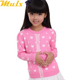 Wholesale Sweaters for girls clothing cardigans casual Best selling cardigans The small white rabbit sweater design girls cardigans