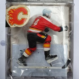 Wholesale Animation Garage Kid Collection Toys McFarlane Action Figure PVC Dolls NHL Ice Hockey Player Theoren Fleury Model Best Gifts