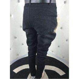 Wholesale New Fashion Womens Harem Pants Lamb Wool Breeches Banana Pants Denim Jeans