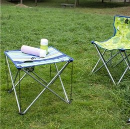 Wholesale BBQ table outdoor folding tables and chairs table portable ultra light wild field leisure beach Beach Camping
