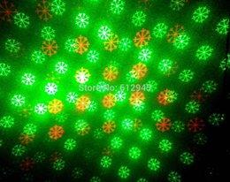 Nueva staic luz láser rojo y verde grande de luz al por mayor de 2015 de la Navidad del copo de nieve para la luz paisaje al aire libre cheap big snowflake light desde gran luz de copo de nieve proveedores