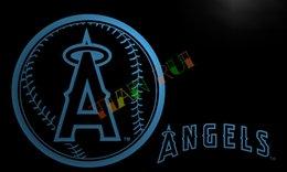 Wholesale LA260 Angeles Angels Neon Light Sign home decor crafts led sign jpg