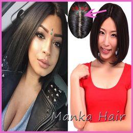 100% human hair Hot Charming short bob cut wigs silk top glueless wigs unprocessed hair bob wigs for black women
