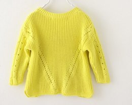 Wholesale sweater design for baby cardigan red white yellow color V Neck outdoor coat custom sweater OEM service