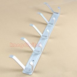 Wholesale J35 Space Aluminum Home Clothes Coat Hanger Rack With Hooks For Bedroom Washroom