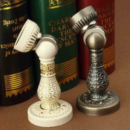 Wholesale European Style Ivory White Antique Brass color door stopper classic style door stopper