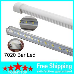 Wholesale SMD Hard Rigid Led Bar Strip Light Waterproof V LEDS Cold White CM waterproof U aluminium profile