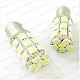 Promotion & High Quality 50pcs 1156 1157 Trun Signal Led Bulb 27SMD 5050 27 Led Brake Lamp Tail Light 12V   24V 27 SMD