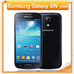 Wholesale Samsung Galaxy S4 Mini I9192 I9195 Cell Phone G Touch NFC WIFI GPS MP Camera Unlocked Phone Refurbished