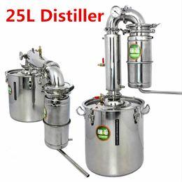 Wholesale 25 L Distiller Bar Household facilities wine limbeck distilled water baijiu large capacity vodka maker brew alcohol whisky