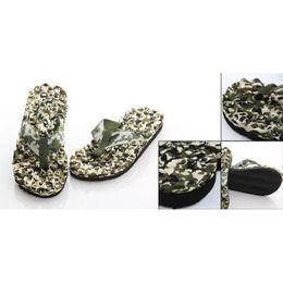 Wholesale IMC Mens Round Toe Camouflage Pattern Beach Shoes Flip flops order lt no track