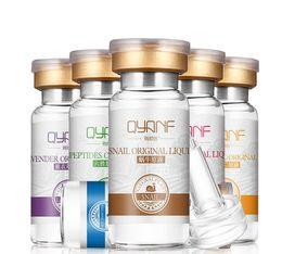 Wholesale QYANF hyaluronic acid six peptides snail EGF levorotatory VC concentrate Moisturizing Toner Face Whitening Anti aging Skin Care Acid