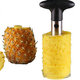 Wholesale Stainless Steel Fruit Pineapple Corer Slicers Peeler Parer Cutter Kitchen Easy Tools