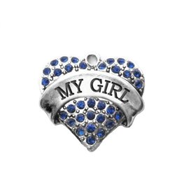 20pcs a lot My girl text romantic gift charm