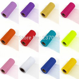 Wholesale New Tulle Roll Spool quot x25yd Tutu Wedding Decoration Party Bow Colours Pick