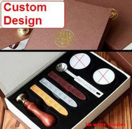 Wholesale-Wholesale stamps, ancient wax seal deluxe suit, Sealing wax stamp, Custom design, Free Shipping