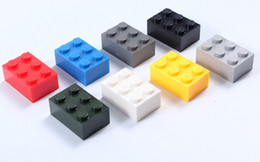 2019 New Children Toys 275pcs lot 2x3 Studs ABS DIY Building Blocks Kids Toys