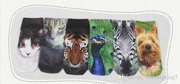 Compra Online Animales libres-Calcetines de los niños lindos calientes de los animales de la historieta, calcetines de los niños impresión cómoda y respirable, oferta especial envío libre, solamente