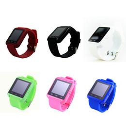 Moniteur de sommeil podomètre à vendre-Avec altimètre podomètre sommeil moniteur chronomètre u8 smart watch Bluetooth montre téléphone étanche à l'eau pour smartphone samsung HTC