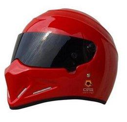 Wholesale Electric Star Wars pig helmet ATV motorcycle helmet FRP personality men Full face Four seasons helmet
