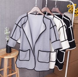 Fall 2015 new women's clothing splicing coat Han edition big yards dress coat