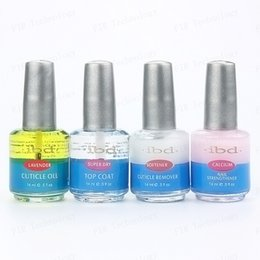 Wholesale New IBD Nail Base Aand Top Coat Nutrition Oil Softener Calcium Strengthener Cuticle Remover Cuticle Oil Super Dry ml
