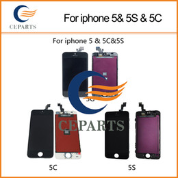 Wholesale For iPhone G S C LCD Display Touch Screen Digitizer Assembly Replacement Repair Parts Black and White DHL