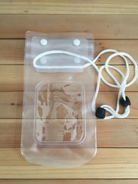 Wholesale Selling Transparent Bag - 2015 Hot Selling Under Cell Phone Transparent Waterproof Underwater Pouch Bag Dry Case Cover For Mobile Phone
