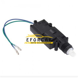 Wholesale 50pcs Universal Car DC V cable Wire Heavy Duty Power Door Lock Actuator Auto Locking System Motor With Hardware