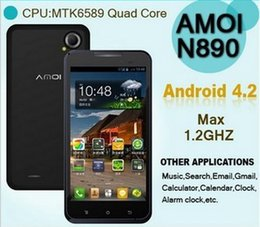 Wholesale Special Link for pda ru forum quot Amoi N890 MTK6589 Quad Core GHz IPS Touch Screen Dual Camera MP mAh Unlocked