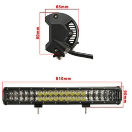20 inch Osram LED Bar 210W 4D Spot Flood Combo Beam LED offroad Light Bar 4x4 4WD Jeep ATV SUV Truck Boat Driving Work Lamp 12V 24V