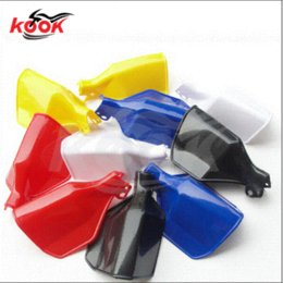 Free shoping red color Motorcycle Handguards motocross Hand Guards Shield 5colors optional motorcycle regulator