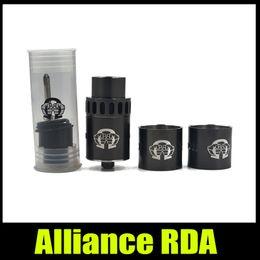Wholesale Alliance RDA Tank Clone mm Dripping Atomizer Stainless Steel Peek Insulator DIY Ecigarette Vaporizer RDA Kit New
