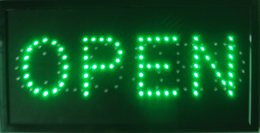2016 Hot sale custom neon signs led neon open sign green eye-catching slogans board indoor free shipping