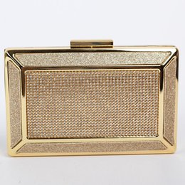 Wholesale 2015 News Luxury gold Rhinestone Day Clutches of women s bags for business party bag clutch envelope clutch bags K