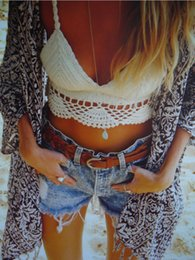Tankinis mulheres s à venda-Nice sexy handmade crochet bikini swimwear mulheres praia colheita tops