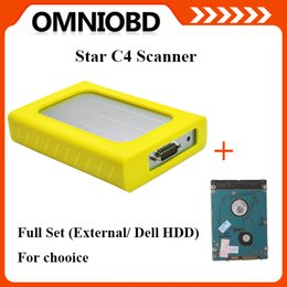 Wholesale Big Promotion Full se MB Star C4 Diagnostic Tool for Ben z with Newest External Dell HDD for chooice Multi language Star Star C4 Diagnosis