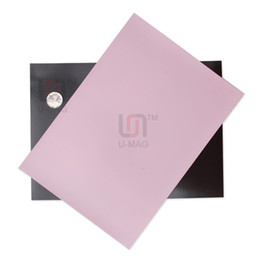 Pvc de láminas mm en Línea-Tamaño 1pcs Pink A4 de 1 mm de espesor de PVC flexible de goma magnética Imanes fácil de cortar la hoja