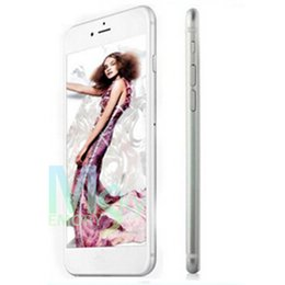 Wholesale Goophone i6 i6s Plus inch Dual Core MTK6572 Android Show GB GB Bean G Phone call Show G i6s Smart Phone DHL free
