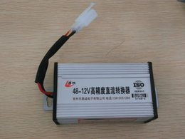 Dc convertisseur 12v 48v en Ligne-Pour convertisseur de véhicule électrique 12V précision 72v 48v tourner tourner 12v 60v convertisseur 12v DC