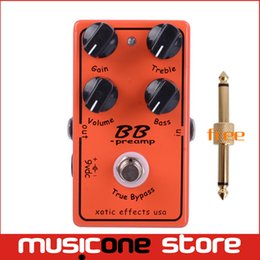 Wholesale BB Guitar Effect Pedal Overdrive And Boost And True Typass MU0369