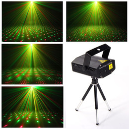 Wholesale Christmas Party Mini LED research and development of the laser projector stage lights adjust DJ disco club lights KTV effect