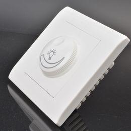Wholesale-Free shipping led dimmer 220v Max 630W 200-250V light dimmer switch led dimmer
