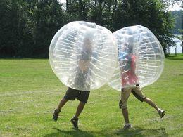 2017 Fedex Free zorb ball inflatable bumper ball bubble soccer water walking ball Zorbing 1.5m pvc