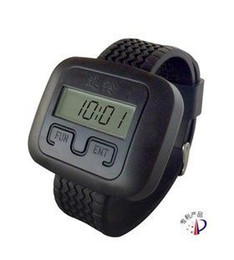 Wholesale Wireless Pager Service Calling System For Restaurant Salon Beauty Table Table Bells Wrist Watch APE6600