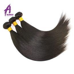 7A Rosa Malaysian Straight Hair Bundles 100% Unprocessed best Malaysian Peruvian Virgin Hair Straight 3 Pcs lot Human Hair Weave Wholesale