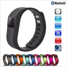 2016 activité smartband tracker Fitbit TW64 New 9 couleurs bracelet intelligent Band Fitness Activity Tracker Bluetooth 4.0 Smartband Sport Bracelet pour téléphone portable IOS Android activité smartband tracker offres