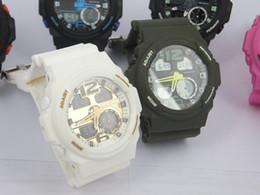 Fashion relogio G310 men's sports watches, LED chronograph wristwatch, military watch, digital watch, Luxury brand men kids sports watches